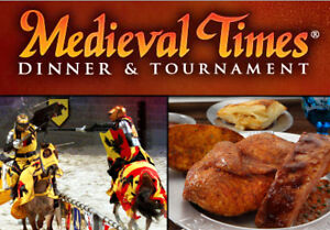 4 Tickets to Medieval Times