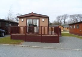 Furnished 2 bedroom Lodge, Site fees paid until March 2019!!!