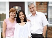 Twin and triple rooms needed for short-term international student homestay