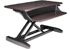 ! BRAND NEW  !!! SIT- STAND DESK COVERTER LIFT 101 -CHOCOLATE