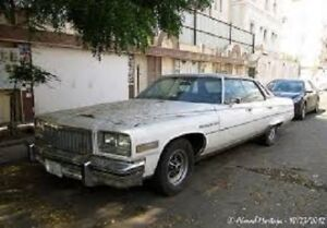 76 Buick Park Ave Parts car wanted