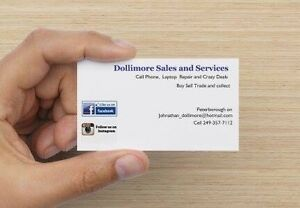 DOLLIMORE SALES AND SERVICES PLEASE SHARE AND LIKE MY PAGE  Peterborough Peterborough Area image 1
