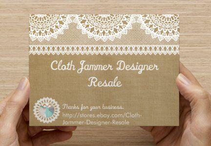 Cloth Jammer Designer Resale