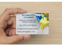 Ellements Cleaning Service Domestic and Commercial no Job Too Small Reliable and friendly