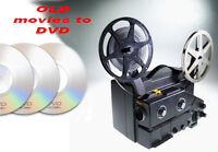 old movies to DVD
