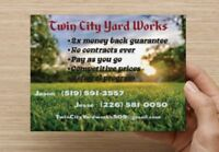 Twin City Yard Works . Window Cleaning Services
