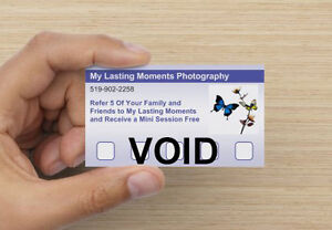 Perfect Gift Deals Photography Gift Certificates $ 25 and Up London Ontario image 2