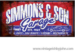 "Huge ""Vintage"" signs 4'x2'! Great for Car shows!! Kitchener / Waterloo Kitchener Area image 5"