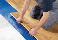 hardwood & laminate installers. Professional and reliable.