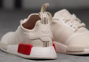 Adidas NMD R1 Red White 8.5 New