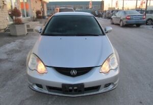 02 Acura RSX DC5 for PARTS! Silver in color!