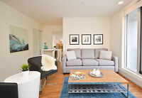 FURNISHED RENTALS! Luxurious Finishes, Pet-Friendly!