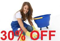 HOME CLEANING - MOVE IN & MOVE OUT CLEAN ~ GET 30% OFF