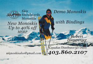 New & Used Monoskis for sale