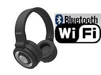Betron B15 Bluetooth On-Ear Headphones Wireless Built in Microphone,LEYTON E10 5PW