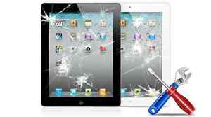 iPad 2, 3, 4, Mini & Air 1 & 2 Glass Screen Repair