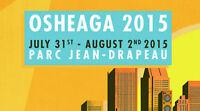 TWO 3-Day Passes to Osheaga