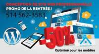 Conception site web - Site interne HÉBERGEMENT GRATUIT 1 AN