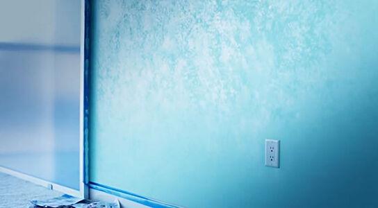 DIY: Metallic Wall Paint
