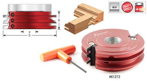 Amana Insert Stile Rail / Cope Stick Classical Shaper Cutter