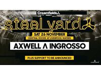 STEEL YARD CREAMFIELDS TICKET X1