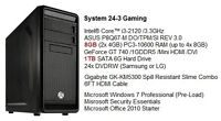 Brand New Intel i3 Mid-Range Gaming Tower /8G DDR3 /1TB /GT 740