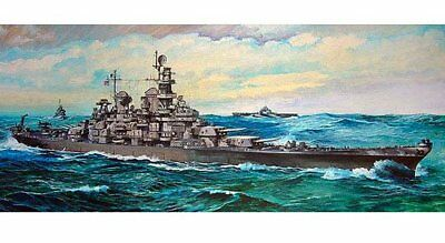 Tamiya 1/350 Ship Series 18 US Navy battleship Missouri 78018