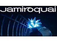 Jamiroquai - 2 x standing tickets for O2 - Wednesday 6th December