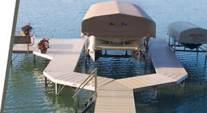 Sale!! On all Boat Lifts and Aluminum Docks