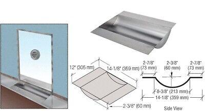 Bulletproof Drop In Deal Tray Countertop Under Glass Deluxe Stainless Steel Crl