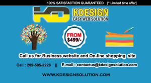 MOBILE FRIENDLY BUSINESS WEBDESIGN - Starting from $499
