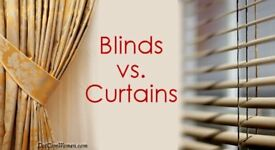 Professional window curtain and blinds fitter