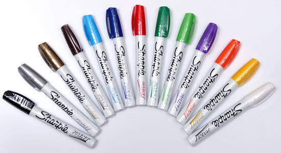 Sharpie Oil-Based Paint Markers singles medium fine extra fi