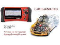 Car diagnostics - Main dealer grade equiptment - codes read - fault diagnosis