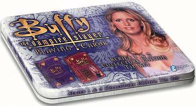Collectors Tin for Buffy Playing Cards Series 1 and 2 - Cards Not Included
