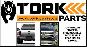 New Replacement Truck Parts- Tow Mirrors, Bumpers, Grills & More
