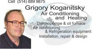 Air conditioning, heating and refrigeration West Island Greater Montréal image 1