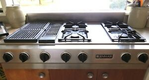 JENN-AIR TRIPLE BAY GAS GRILL COOKTOP