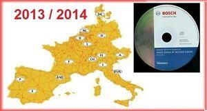 Navigation CD Europa Europe DX 2013/2014 Tele Atlas Blaupunkt TravelPilot Bosch