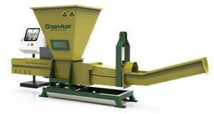 GREENMAX Poseidon series machine for beverage bottles recycling