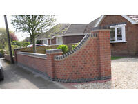 Top quality checkatrade registered bricklayer available for all aspects of bricklaying