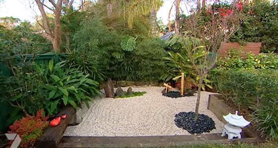 How to create a backyard japanese zen garden ebay for Japanese meditation garden design