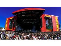 Reading Festival Weekend Tickets (including camping)
