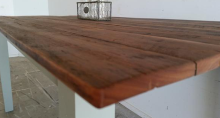 Reclaimed Timber Dining Table | Free Delivery Brisbane