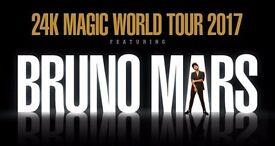 2 x Bruno Mars Concert tickets 19 April 2017 @ London o2