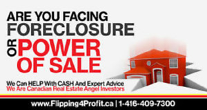 Avoid Power of Sale in Chatham