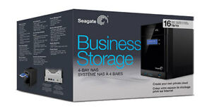 Seagate Business Storage NAS 4-Bay  Network Attached Storage