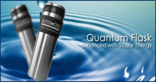 Pack 2 Nano FusionExcel Scalar Energy Quantum Flask Stock Clearance SALES!!