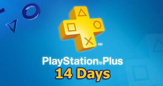 PSN PLUS 14 DAYS TRAIL - PS4 - PS3 -PS VITA PLAYSTATION