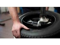 Experienced tyre fitter needed